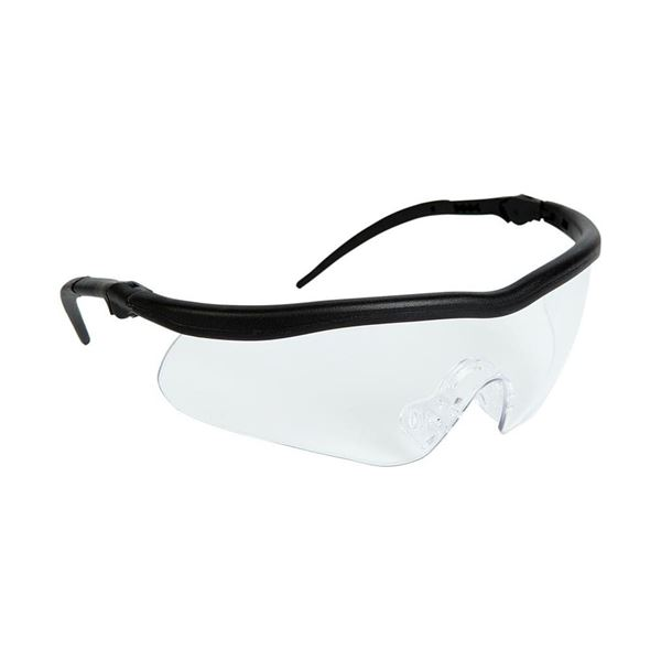 Warrior Safety Spectacles, Wraparound Clear lens