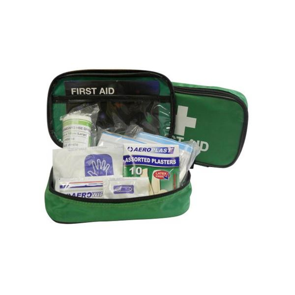 FA5-A Travel First Aid Kit Off Site Nylon Pouch Aerokit