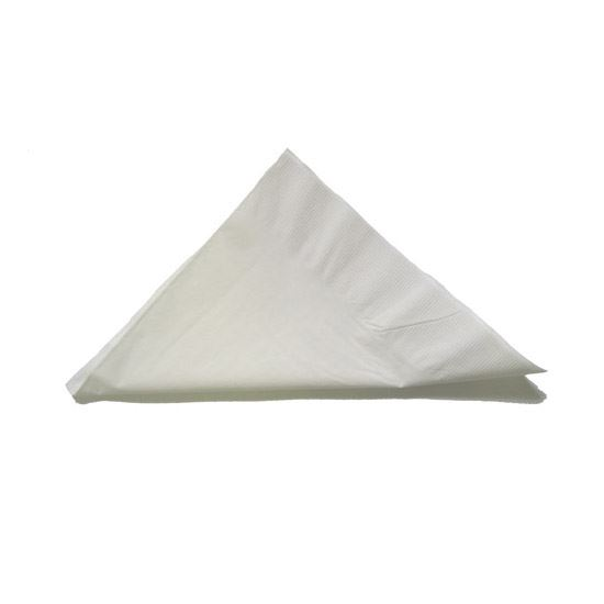 Napkins 1 Ply White 31 x 35cm - 5000 per case