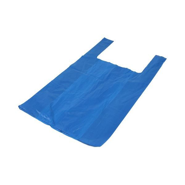 Blue Recycled Vest Carriers BR5 14L/KG per 1000