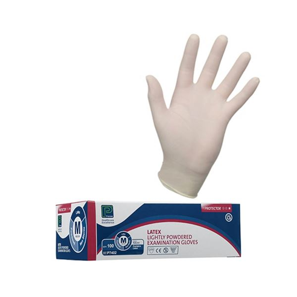 G131-XL Premier Pre Powdered Latex Examination Gloves