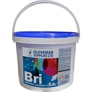 hk1092 Gloveman Bri Non-Bio Laundry Powder, 10kg Tub