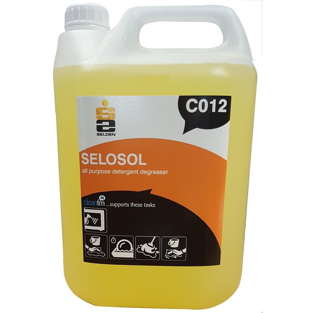 C012 Selosol Food Safe Cleaner & Degreaser 5 Litre