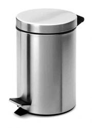MIS133 5L Stainless Steel Mirrored Pedal Bin
