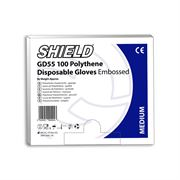 G29 Shield Polythene Gloves Clear