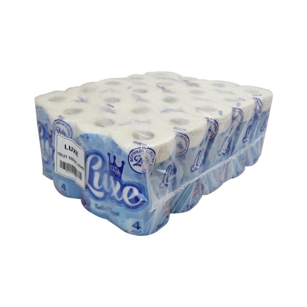 Little Duck Luxe Toilet Rolls 2 Ply 210 Sheet X 40 Gloveman Supplies Ltd
