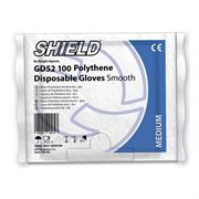 G21 Shield Polythene Gloves Clear