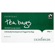 MIS1937 Lichfields Fairtrade Tea Bags