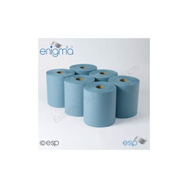 P207 Towel Rolls Blue