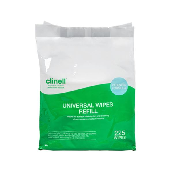 WPS84-R Clinell Universal Wipes