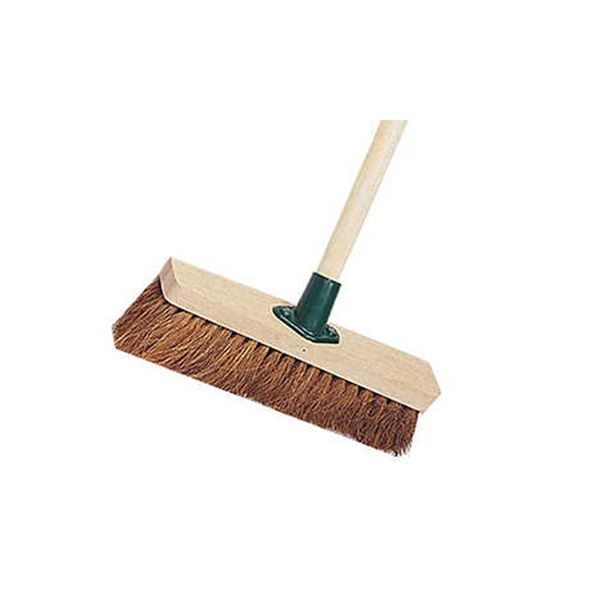 "Wooden Broom Soft Coco 11"" Complete"