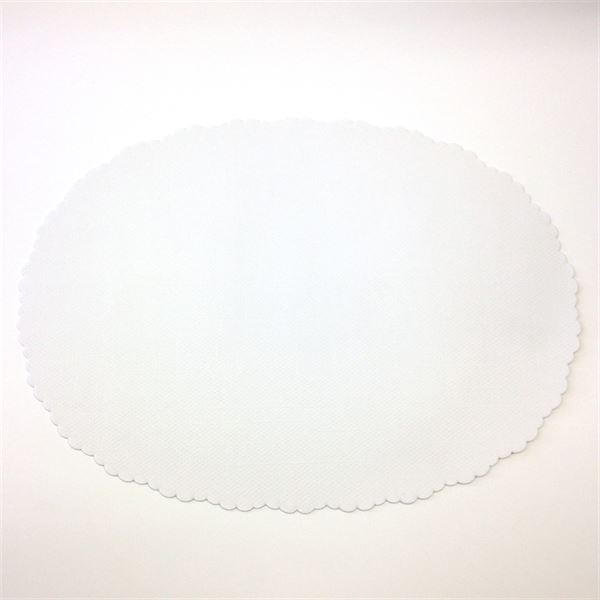 Oval Dish Papers, 265 x 193mm per pack of 250
