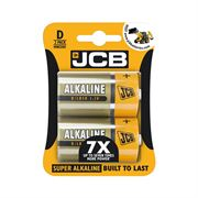 MIS1645 Batteries JCB LR20 D Super Alkaline