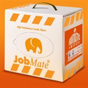 Job Mate Coloured T-Shirt Wiping Rags in Carry Box 5kg