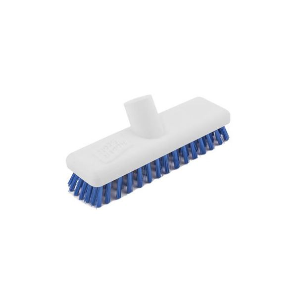 "Abbey Hygiene Plastic Deck Scrubber Head 9""- Various Colours"