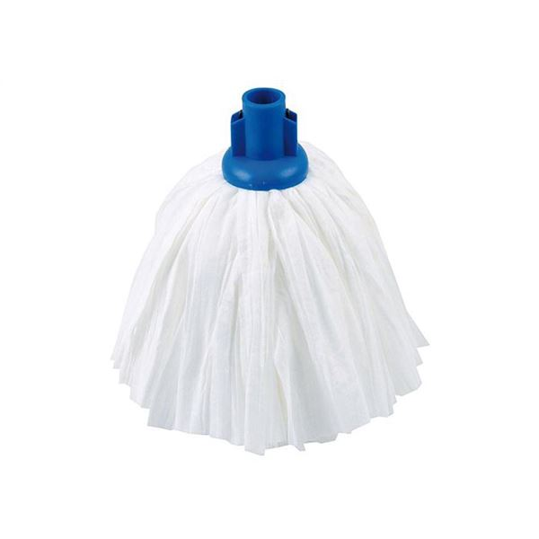 Mop Head with Big White Screw Fitting - 107g Various Colours